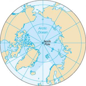 کوچکترین اقیانوسها : اقیانوس منجمد شمالی