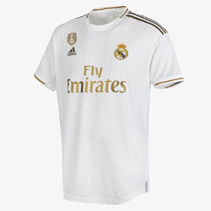 طرحی نمونه از پیراهن اصلی باشگاه