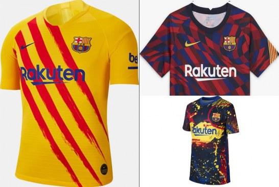 خرید پیراهن بارسلونا